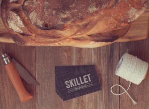 Yiwen Lu's Skillet New Orleans Branding Package